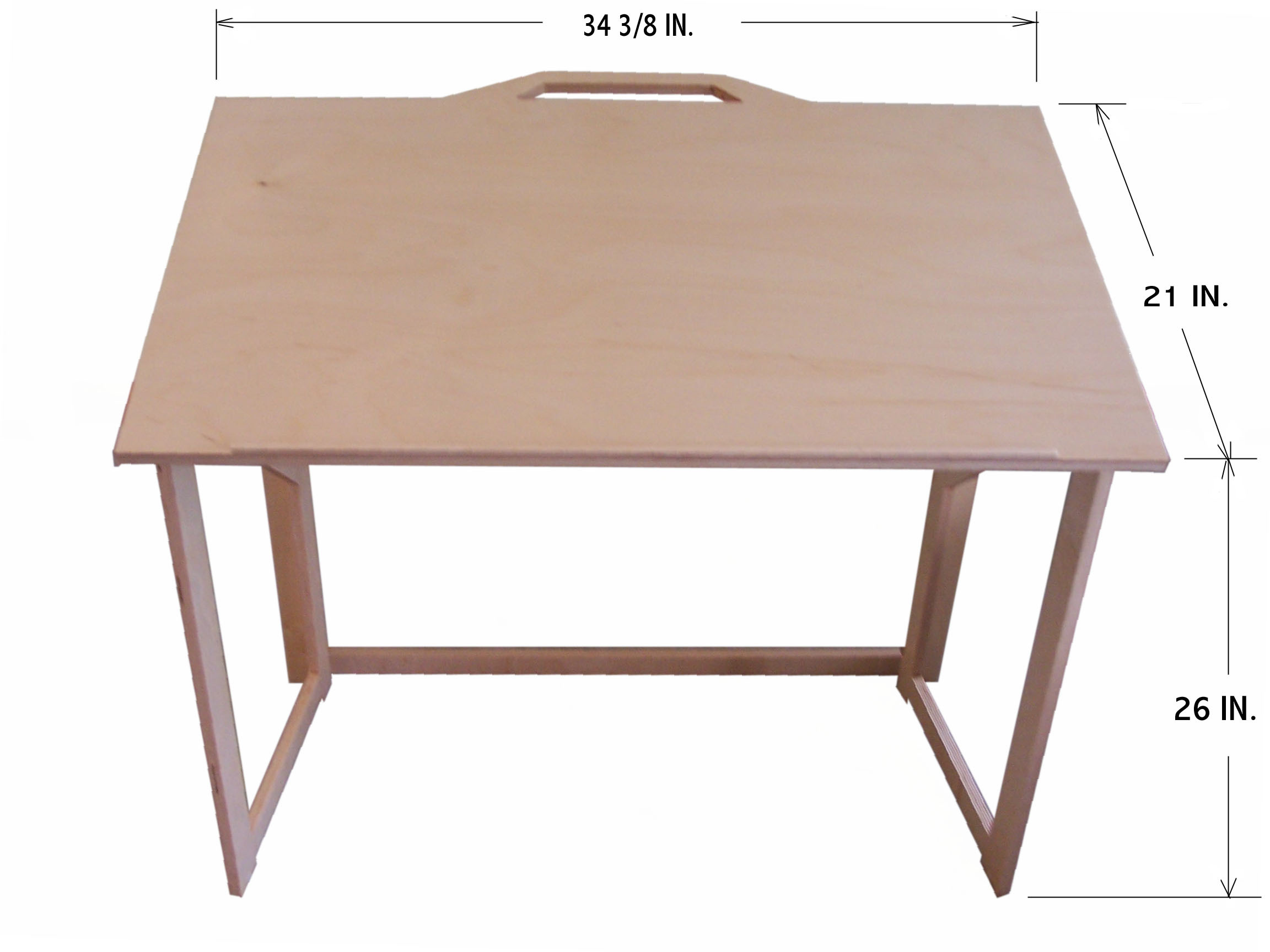 Drafting table dimensions - Arrives At Your Door Fully Assembled And Ready To Use Table Dimensions With Brown